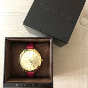 Michael Kors Pink Skinny Watch